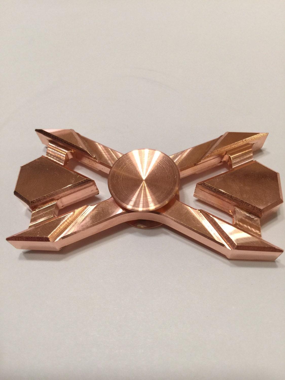 Fidget spinners qatar - Custom Copper Hand Spinner Fidget Toy