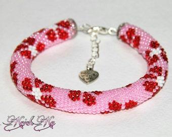 """Bracelets """"Red Summer"""""""