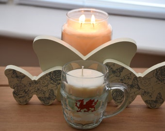 Welsh Half Pint Vanilla Candle
