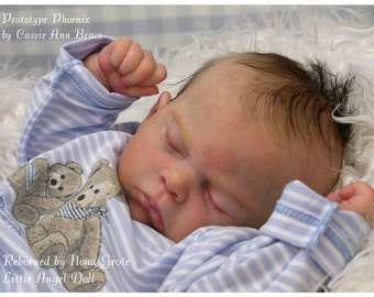 Beautiful Custom Reborn Baby * Phoenix* By Cassie (Peek) Brace, Comes with COA