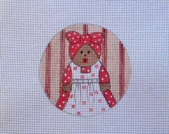 Sweet Aunt Jemima  Handpainted Needlepoint Canvas