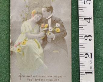Antique Valentine Postcard circa 1900