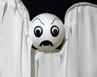 Ghost Halloween Decoration Outdoor Decor Hanging Ghost Fanger Flyer Extra Large Yard Art