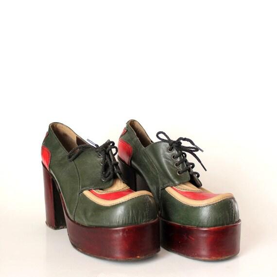 chaussures des ann es 1970 chaussures de eldita fabriqu s en. Black Bedroom Furniture Sets. Home Design Ideas