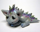 "OOAK Fantasy Stone Mini Dragon ""Drasa"" by Amber Matthies"