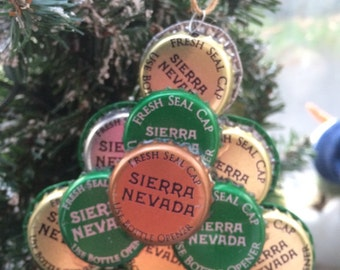 Sierra Nevada beer cap ornament