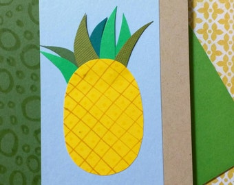 Gold & Green (Pineapple) // Cards for Any Occasion
