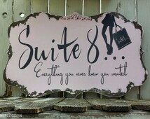 Custom Business Sign | Hand Painted Business Sign | Business Sign with Logo | Shabby Chic Sign |  Advertisement | Shop Sign