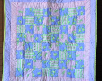 Happy Hopping Frog Quilt  #202