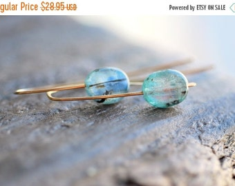 CLOSING SALE Kyanite Earrings Gold Kyanite Jewelry Summer Jewelry Blue Kyanite Gemstone Jewelry Beach Jewelry Gift for Her Gift for Mom