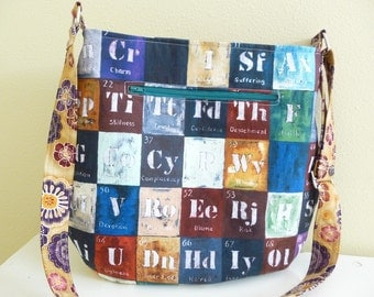 Human Qualities Large Crossbody Tote Bag Purse
