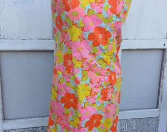 40% FLASH SALE- Flower Power Dress-Vintage