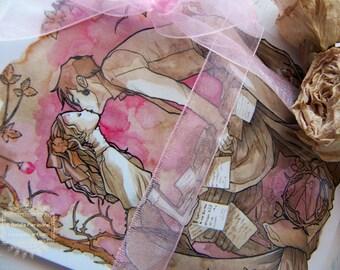 Valentine's - Love Letters - Romance - Watercolor - Art Card - PostCard - Card