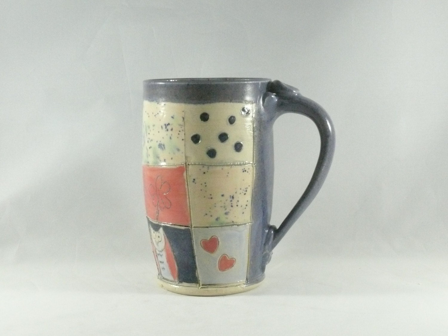 Unique coffee mugs large tea cup pottery mug by Unique coffee cups mugs
