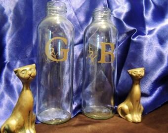 Clear Wedding Vases for Bride & Groom