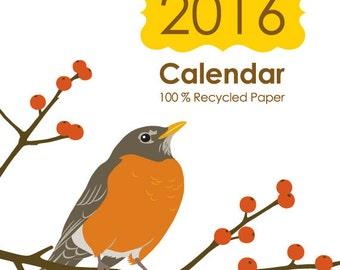 SALE - 2016 Desk Calendar