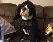 Darth Vader from Star Wars pet costume XS-XL