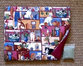 Catnip Mat and Catnip  Cats  at Home  Refillable Reversible