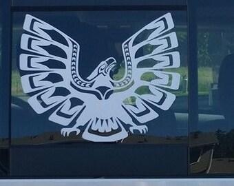 Hawks And Coffee Vinyl Decal Vinyl Sticker Sticker Hawks N - Unique car window decals