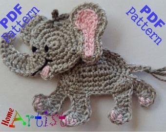 Pdf Pattern Elephant Crochet