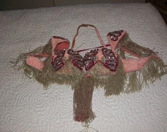 Vintage Madam Abla Bellydance Costume