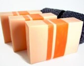 Sweet Orange Essential Oil Buttermilk Soap, All Natural Bar Soap, Limited Edition