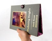 Wuthering Heights Book Clutch Purse - made from recycled vintage book by Rebound Designs