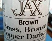 4 oz. (118 ml) - Jax Brown Darkener for Copper, Brass & Bronze
