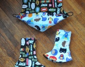 Tula Accessories - Matches Sidekick and Little Heroes - Hood, Corner Suck Pads - Ready to Ship