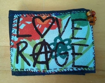 Love and Rage Anarchy Cuff