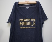 Harry Potter - I'm With the Muggle Shirt