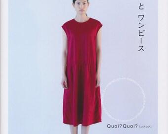 Quoi Quoi Dresses - Japanese Craft Book