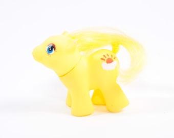 My Little Pony Custom Vintage Fakie Baby Sunshine Pony ~ Pink Room ~ 161123A