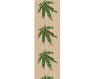 Marijuana Peyote Bead Pattern Pot It Up 2 Instant Download