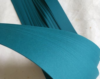 "5/8"" Origami Star Paper Teal DIY (50 strips)"