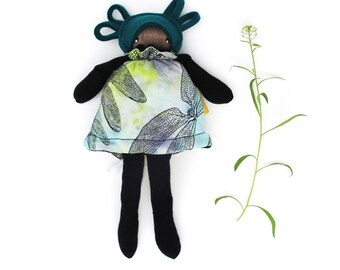 Lily- dragonfly- mini flip doll