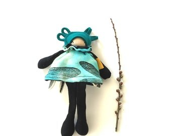 Ripple-dragonfly- mini flip doll