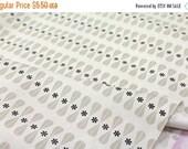 Cotton + Steel Black + White - Floral Geo - 50cm