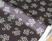 Japanese Fabric Kokka Muddy Works Tomotake - Eucalyptus - C - 50cm
