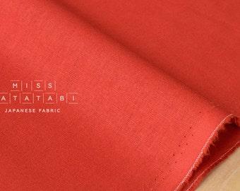 Japanese Fabric Kokka Tayutou solids - red - 50cm