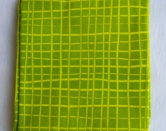 Skinny Stripes Hand Dyed and Patterned Cotton Fabric