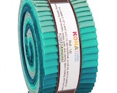 Kona Cotton Midnight Oasis Roll Up 2.5inch Strips 40pcs