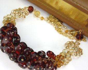 SALE Golden River Necklace