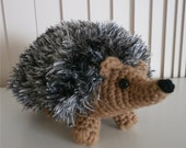Made to Order - Fancy Hedgehog - soft plush crochet toy