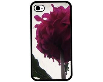 Phone Case - Dahlia Photo - Hard Case for iPhone 4, 4s, 5, 5s, 5c, SE, 6, 6 Plus, 7, 7 Plus - iPod Touch 4, 5/6 - Galaxy