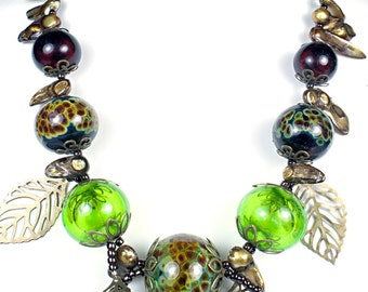 127 Forest Canopy Necklace