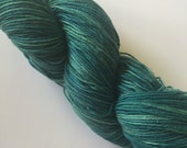 FINGERING WEIGHT SOCK yarn hand dyed by Christine Jones