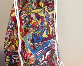 Comic book Superhero Back pack