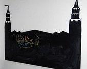 Princess Castle Chalk Board
