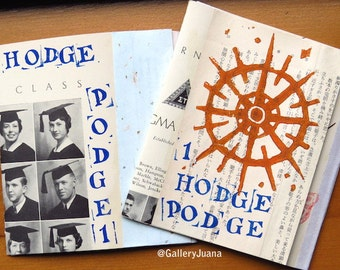 Hodge Podge, issue 1, poetry zine